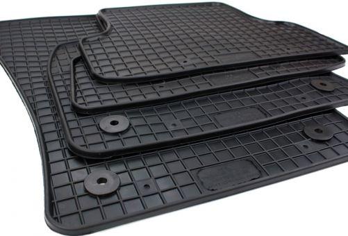 Gummimatten passend für Audi Q2 (GA) Fussmatten Gummi in Premium Qualität Auto Allwetter Matten 4-teilig schwarz