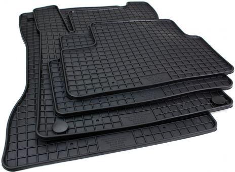 Gummimatten passend für Mercedes A-Klasse W177 B-Klasse W247 Fußmatten Premium Allwetter Automatten schwarz