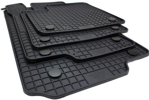 Gummimatten passend für Mercedes M-Klasse W166 GL / GLE GLS X166 Fußmatten Premium Qualität Allwetter Automatten schwarz