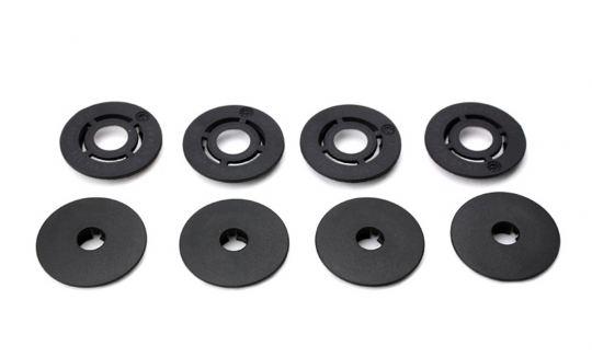 Druckknopf rund Befestigung für Fußmatten verstärkte Ausführung rund Ober-und Unterteil