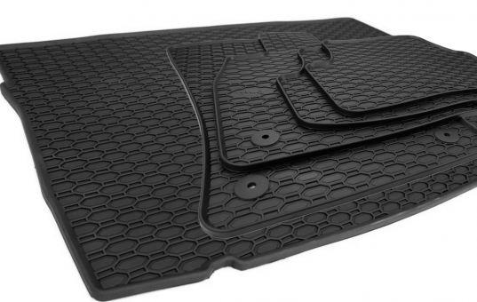 Fußmatten passend für VW Golf 7 5G Limousine inkl. Kofferraummatte Wanne Premium Qualität Gummi Kofferraumwanne Allwetter