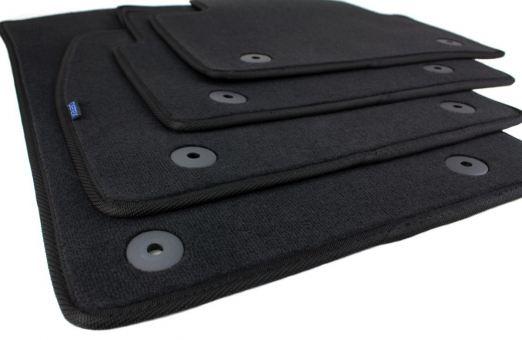 Fussmatten passend für Opel Insignia / Insignia Sports Tourer Premium Qualität Velours Autoteppiche ab 2013 4-teilig schwarz