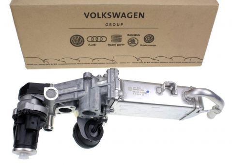 Original VW Audi AGR TDI Abgaskühler Seat Skoda Kühler Abgasrückführung Regelklappe Abgasreinigung