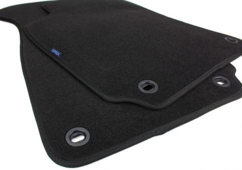 Fußmatten passend für VW Passat B5 3B 3BG Premium Velours 2er Set vorne Automatten schwarz