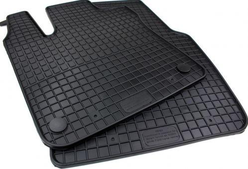 Gummimatten passend für Smart Fortwo / Forfour (453) ab 2014 Fußmatten vorne Gummimatten für Renault Twingo Gummi Allwetter