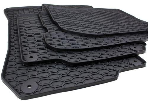 Gummimatten passend für VW Golf 4 Bora New Beetle Fussmatten Gummi Premium Qualität 4-teilig schwarz