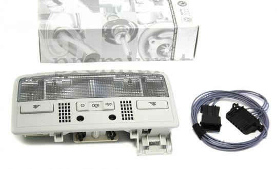 Original VW Leuchte Golf 4 Passat 3B 3BG Polo LED Innenleuchte inkl. Adapter Leseleuchte Ambiente LED rot