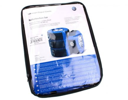 Original Volkswagen Reifentaschen Set VW Polo Golf Touran Passat Sharan bis 18 Zoll 00073900 Rädertaschen