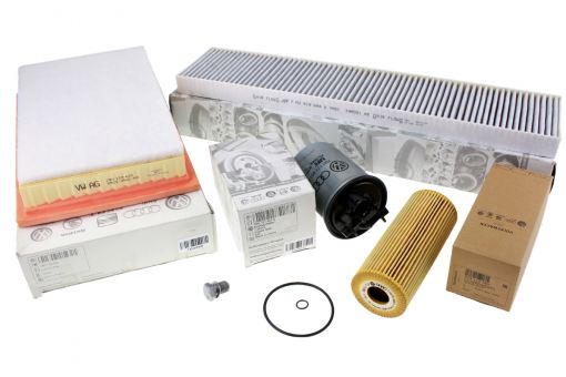 Original VW Sharan 7M Inspektionspaket 1.9L 2.0L TDI Filter Motor Servicepaket 5-tlg ANU AUY ASZ BTB