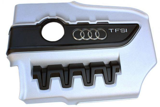 Original Audi TTS Motorabdeckung VW Golf R GTI Motor Cover TFSI Motor Abdeckung Nachrüstung