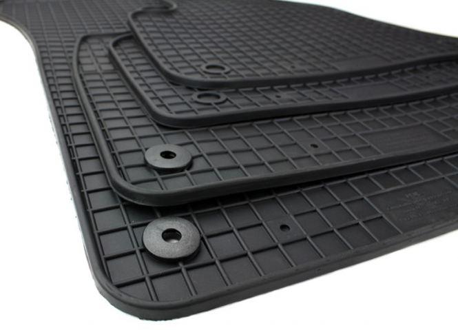 Gummimatten NEW Audi SQ7 Q7 4M Fussmatten Gummi Original Qualität SQ7 V6 V8 TDI Auto Allwetter 4-teilig schwarz