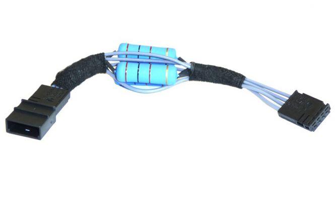 für Original Audi LED Kennzeichenleuchte Anschluß Adapter / Widerstand A4 A6 A8 Q7