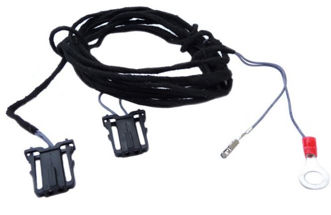 Original VW Fußraumbeleuchtung hinten Kabelsatz zur Nachrüstung Golf 5 6 Passat Jetta Touran