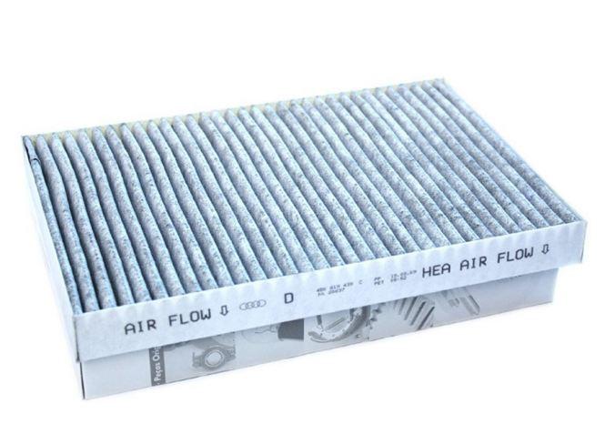 Original Audi Filter Innenraum A6 S6 RS6 4B / Allroad Pollenfilter Aktivkohlke 4B0819439C