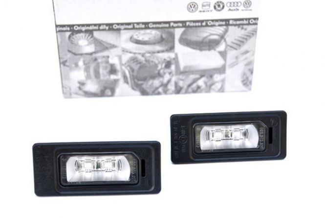Original Audi LED Kennzeichenbeleuchtung S-Line Leuchten A1 S1 A4 S4 RS4 A5 S5 RS5 A6 S6 A7 S7 Q5 SQ5 TT TTS