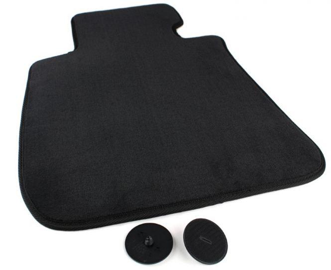 BMW 3er E90/E91 Fahrermatte Fußmatten Velours Original Qualität Autoteppich schwarz Originale Befestigungen
