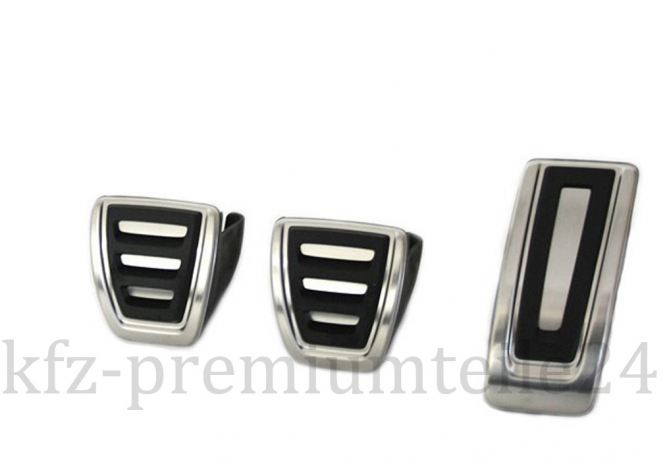 Original VW Pedale Audi Seat Skoda Pedalkappen Schaltgetriebe Pedalset A3 S3 RS3 8V Golf 7 GTI R20 Leon