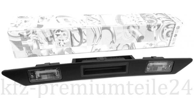 Original Audi A3 A4 A6 Q7 Allroad Griffleiste Heckklappe + Kennzeichenleuchten Griffleiste mit LED Kennzeichenleuchten