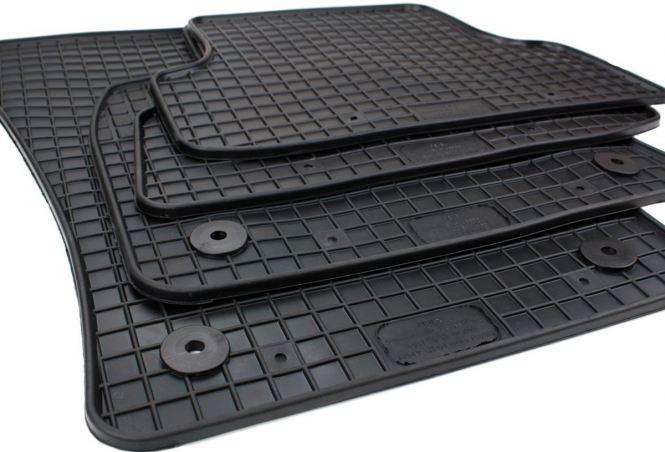 Gummimatten Audi Q2 (GA) Fussmatten Gummi Original Qualität SQ2 Auto Allwetter Matten 4-teilig schwarz