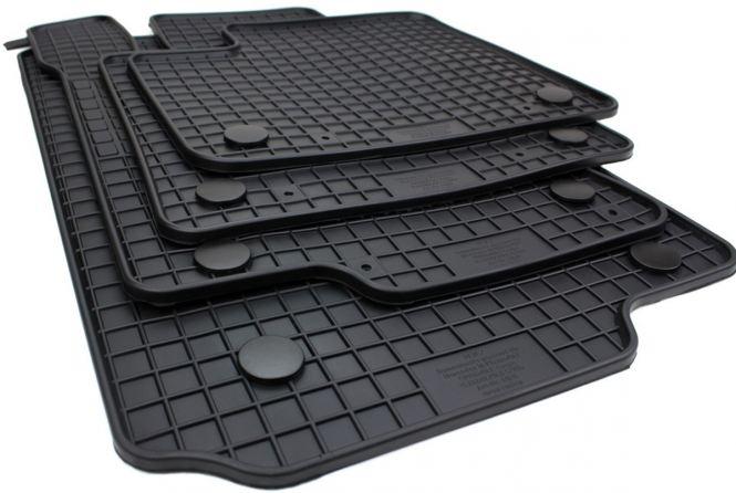 Gummimatten Mercedes M-Klasse W166 GL / GLE GLS X166 Fußmatten Original Qualität Allwetter Automatten schwarz