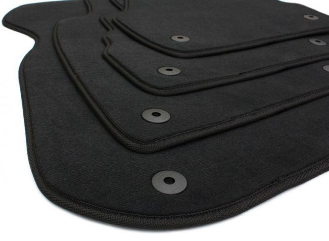 Audi A6 S6 RS6 4B / Allroad Fußmatten Velours S-Line Original Qualität Autoteppiche schwarz 4-teilig
