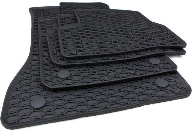Gummimatten BMW 5er G30 / Touring G31  M5 Fussmatten Gummi Original Qualität Allwetter 4-teilig schwarz