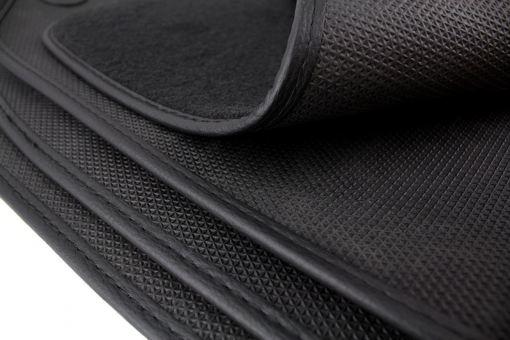 Fußmatten für AUDI A8 S8 D3 4E S-Line Original Qualität Velours Autoteppich