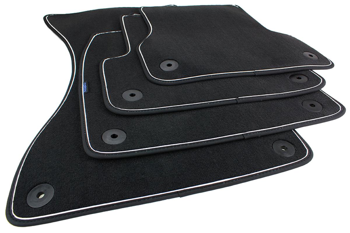 fu matten audi a6 4g c7 velours original qualit t s line. Black Bedroom Furniture Sets. Home Design Ideas