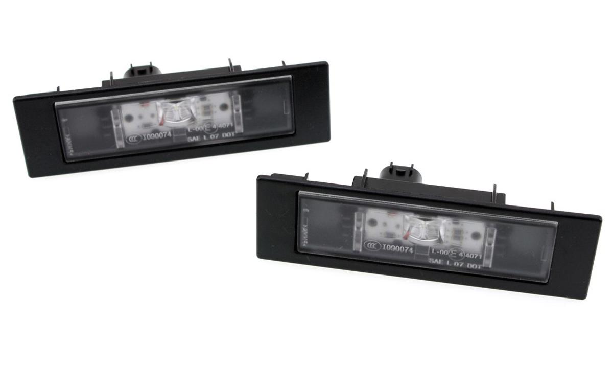 Original BMW LED Kennzeichenleuchten 1er 6er i3 Z4 E81 E87 Leuchten 63267193294
