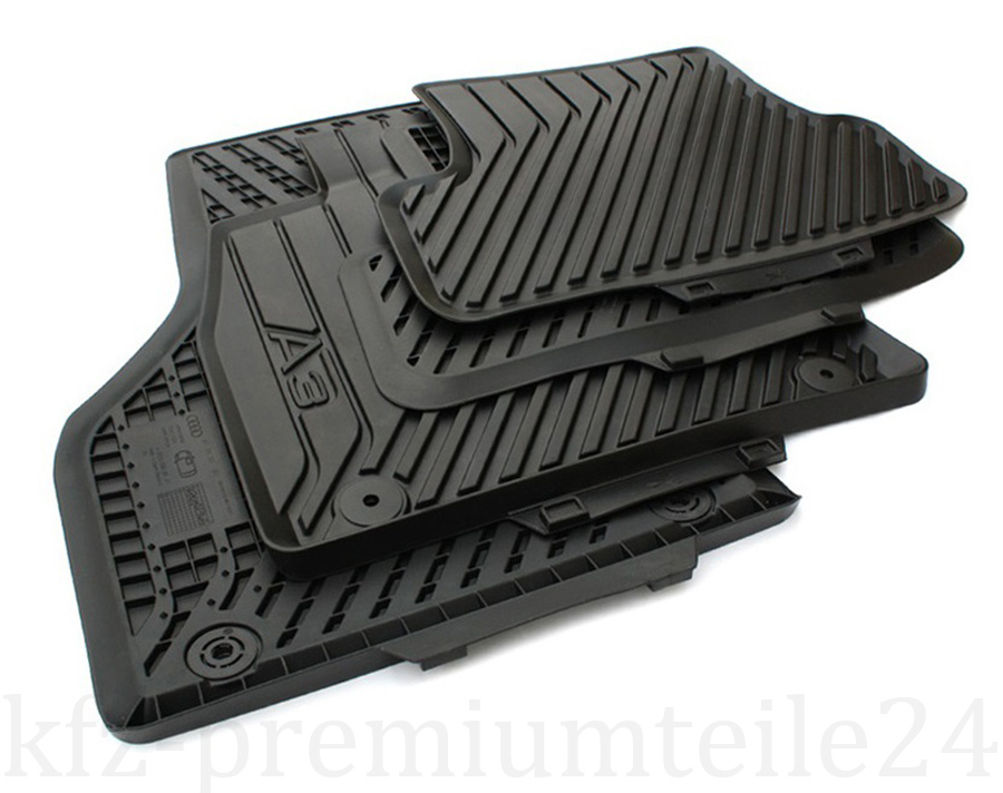 neu tuning rs3 audi s3 8v sportback gummimatten s line a3. Black Bedroom Furniture Sets. Home Design Ideas