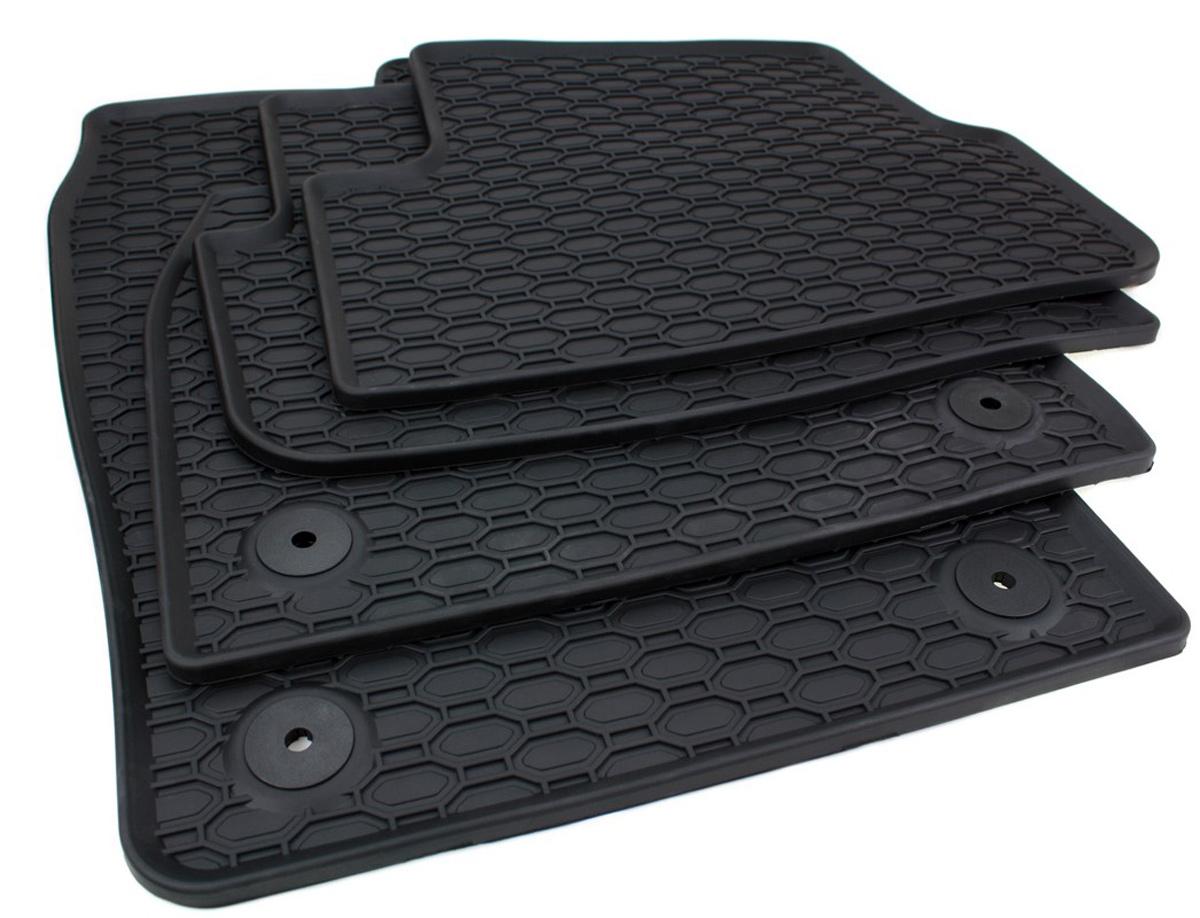 Seat Gummimatten Ibiza//Ibiza ST 6J Fussmatten Gummi Original Qualit/ät Auto Allwetter 4-teilig schwarz