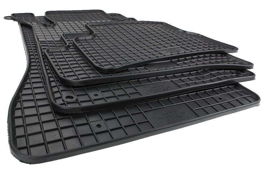 Gummimatten Gummi Fußmatten für Mercedes C-Klasse W204 ab 2007 Original Qualität