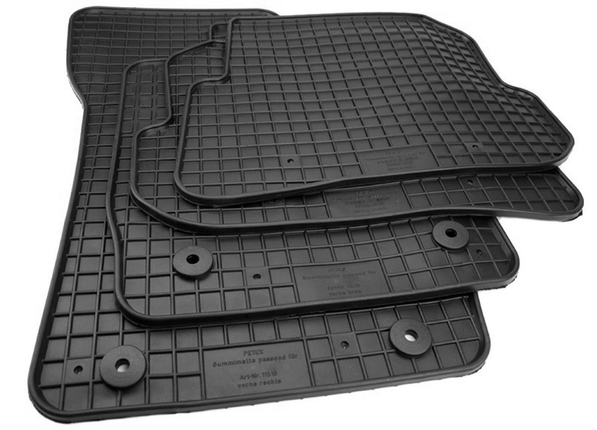 Fußmatten passend für Audi A1 S1 8X Premium Qualität Gummimatten Allwetter Matte