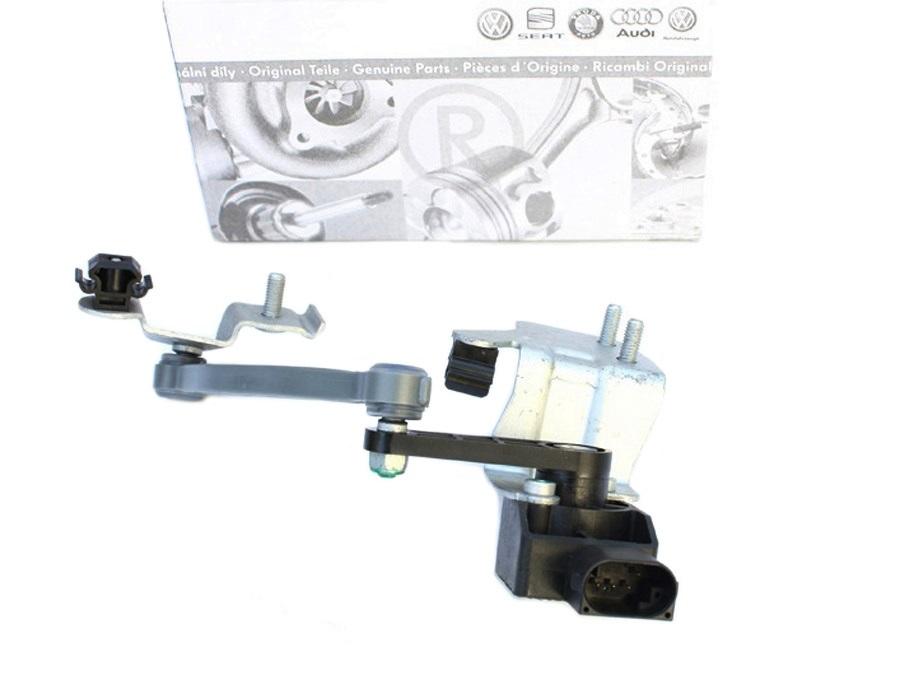 Original Audi A6 Allroad 4B Sensor Luftfeder Federung Gestänge Niveau rechts 4Z