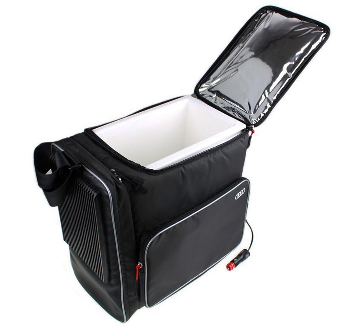 neu audi original k hlbox 12 liter k hltasche 12v a1 a3 a4 a5 a6 a7 a8 4l0065402 ebay. Black Bedroom Furniture Sets. Home Design Ideas