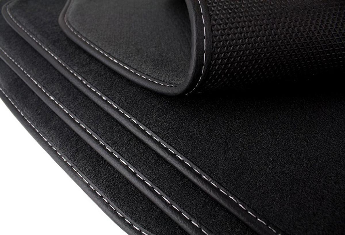 seat leon gti fu matten original velours auto matten 4x. Black Bedroom Furniture Sets. Home Design Ideas