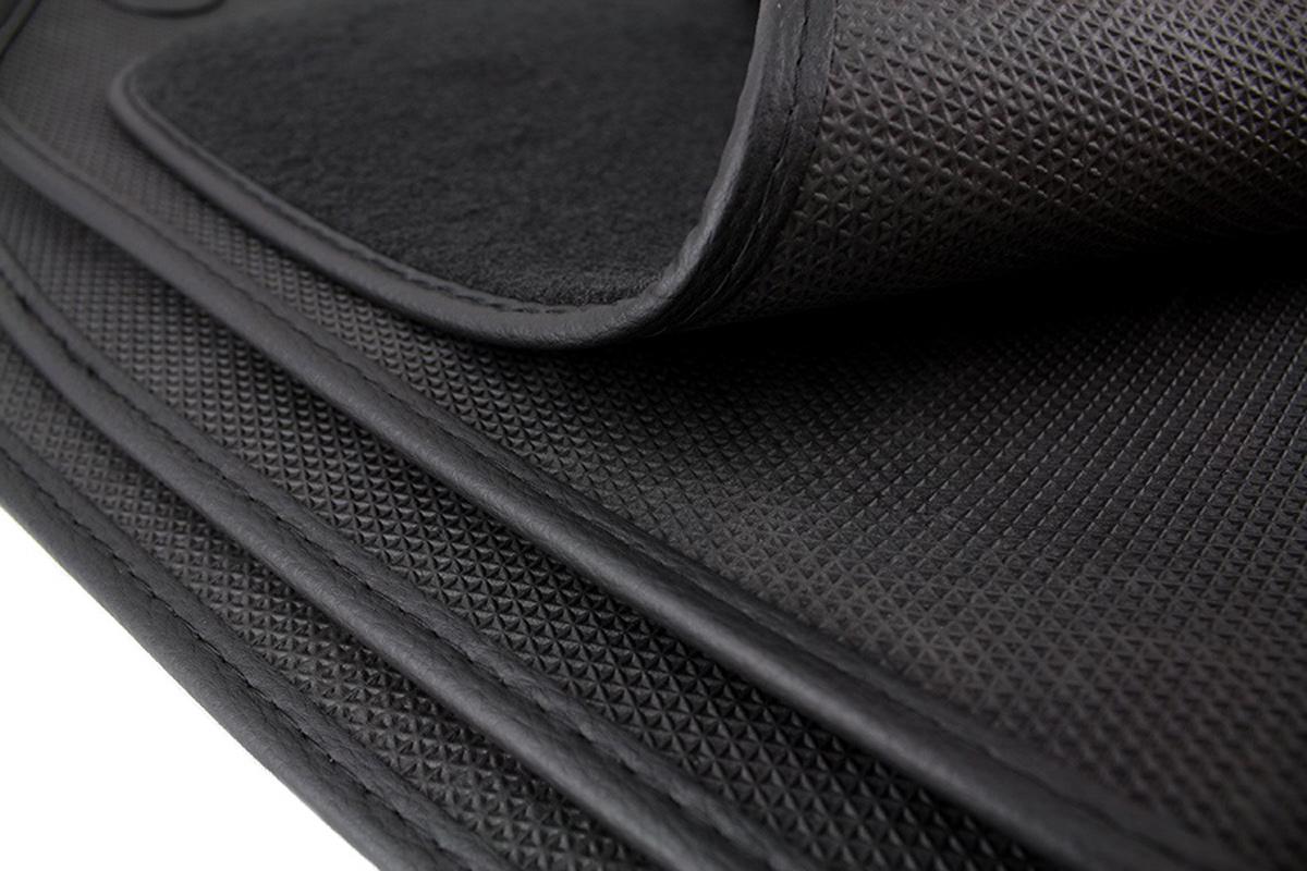 Autoteppich BMW 5er F10 F11 ab 2013 Fussmatten Original Qualität Velours Leder